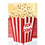 Popcornkar huren met popcornapparatuur
